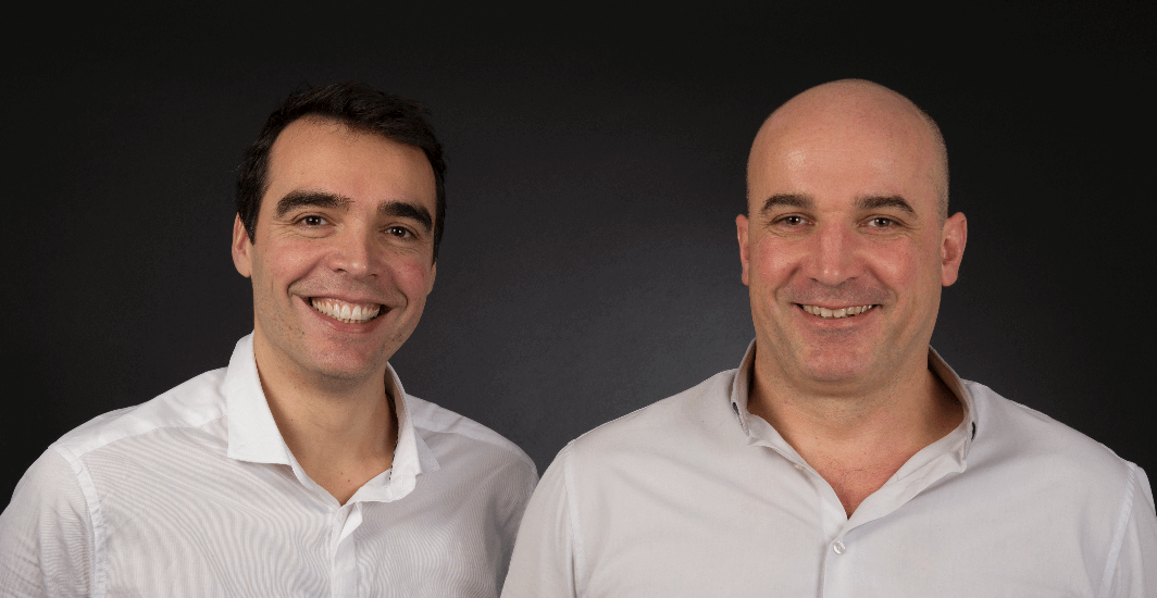Stephane De Marchi and Emmanuel Hamman, co-founders of Simpulse